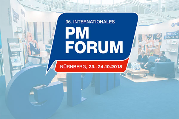 Logo des 35. internationalen PM Forums
